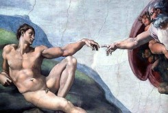 Michelangelo image used by South Bank Show